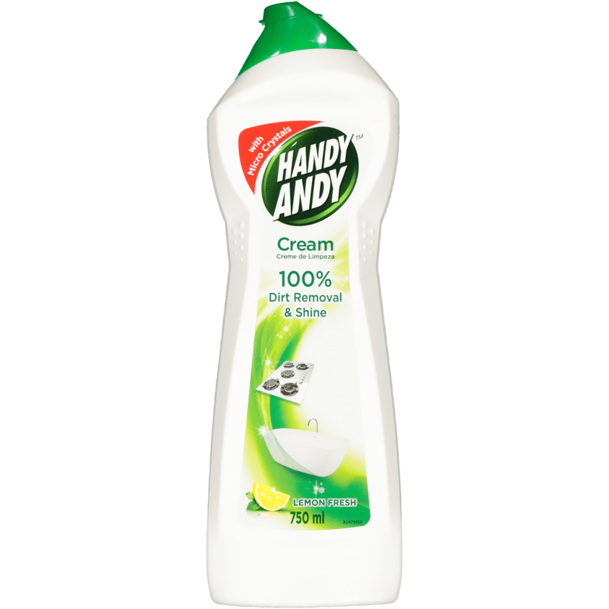 HANDY ANDY CREAM LEMON 750ML