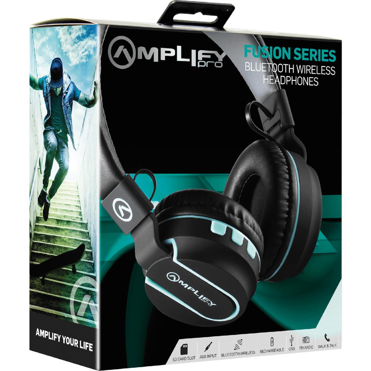 Amplify Pro Bluetooth Headphones