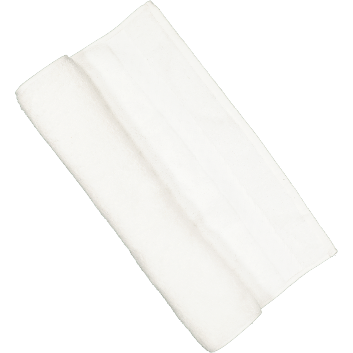 White Cotton Guest Towel