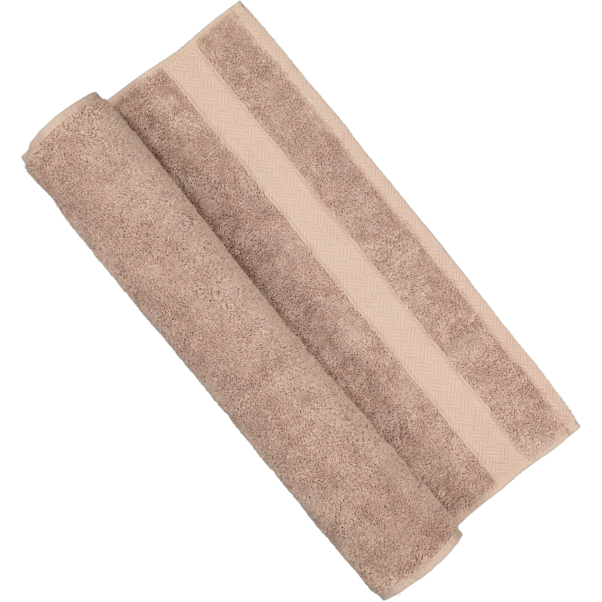 Mocha Cotton Guest Towel