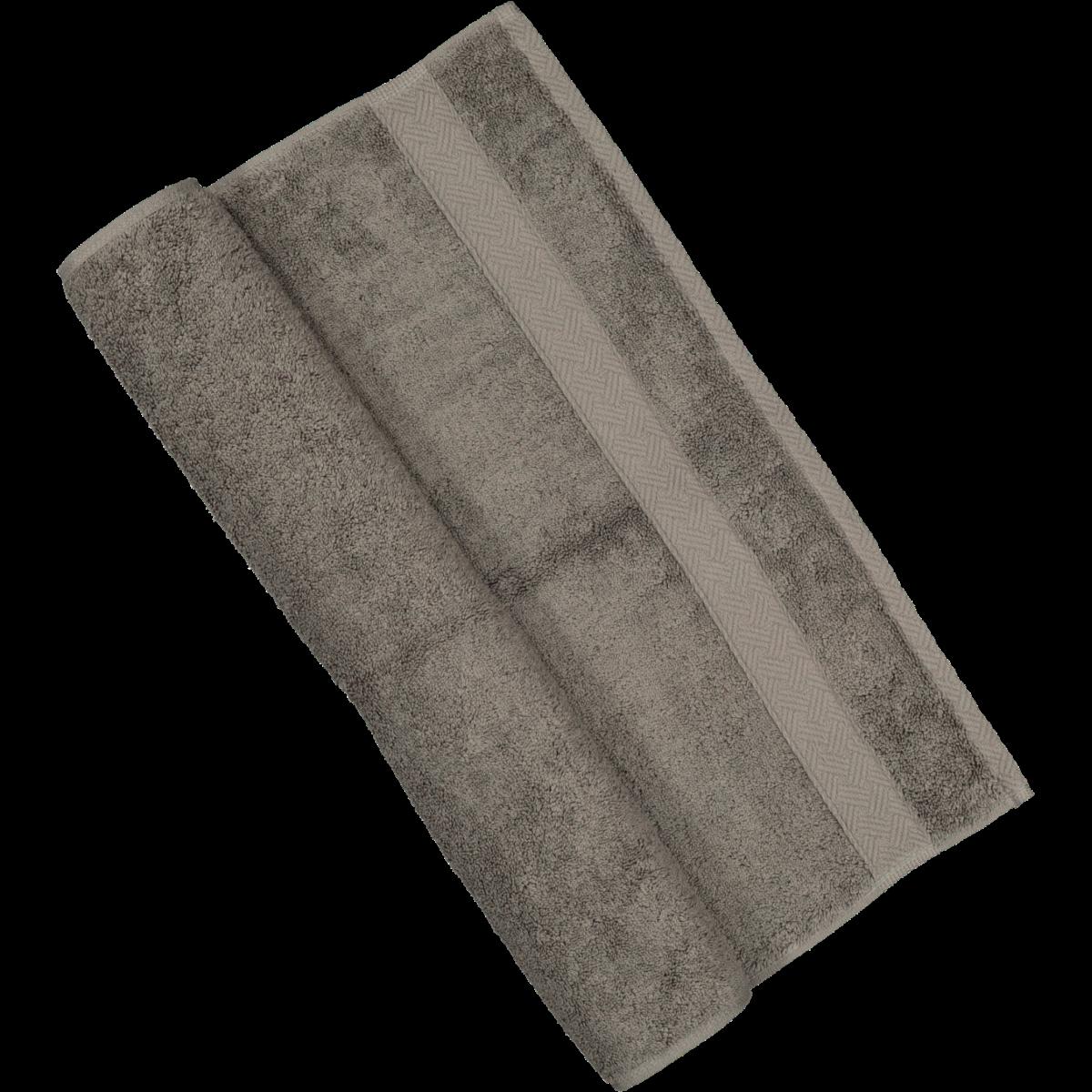 Charcoal Cotton Guest Towel