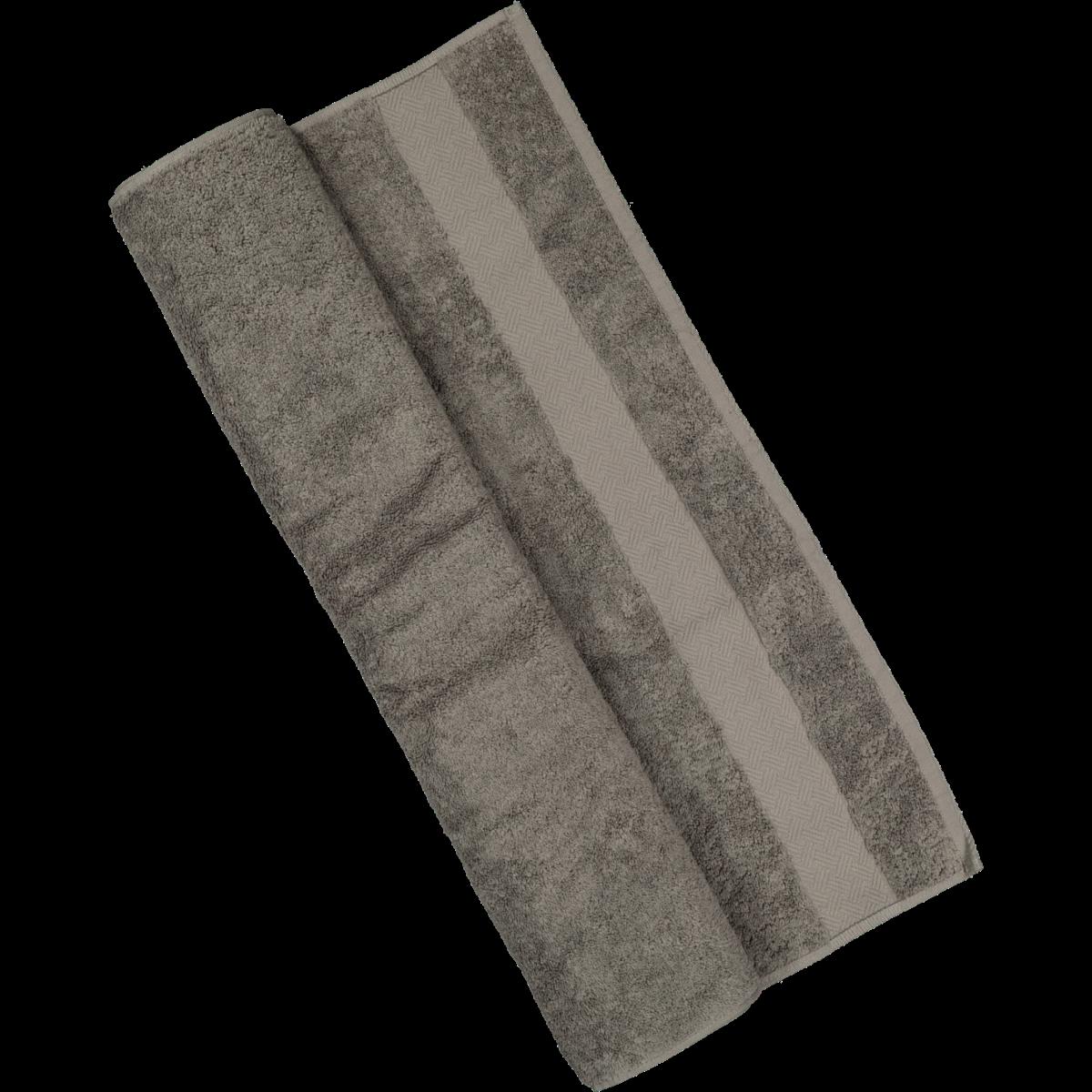 Charcoal Cotton Bath Towel