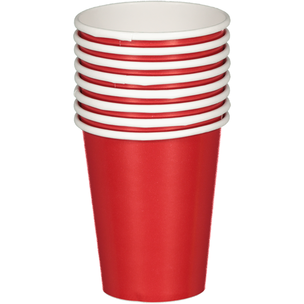 SOLID RED CUPS 8PCS
