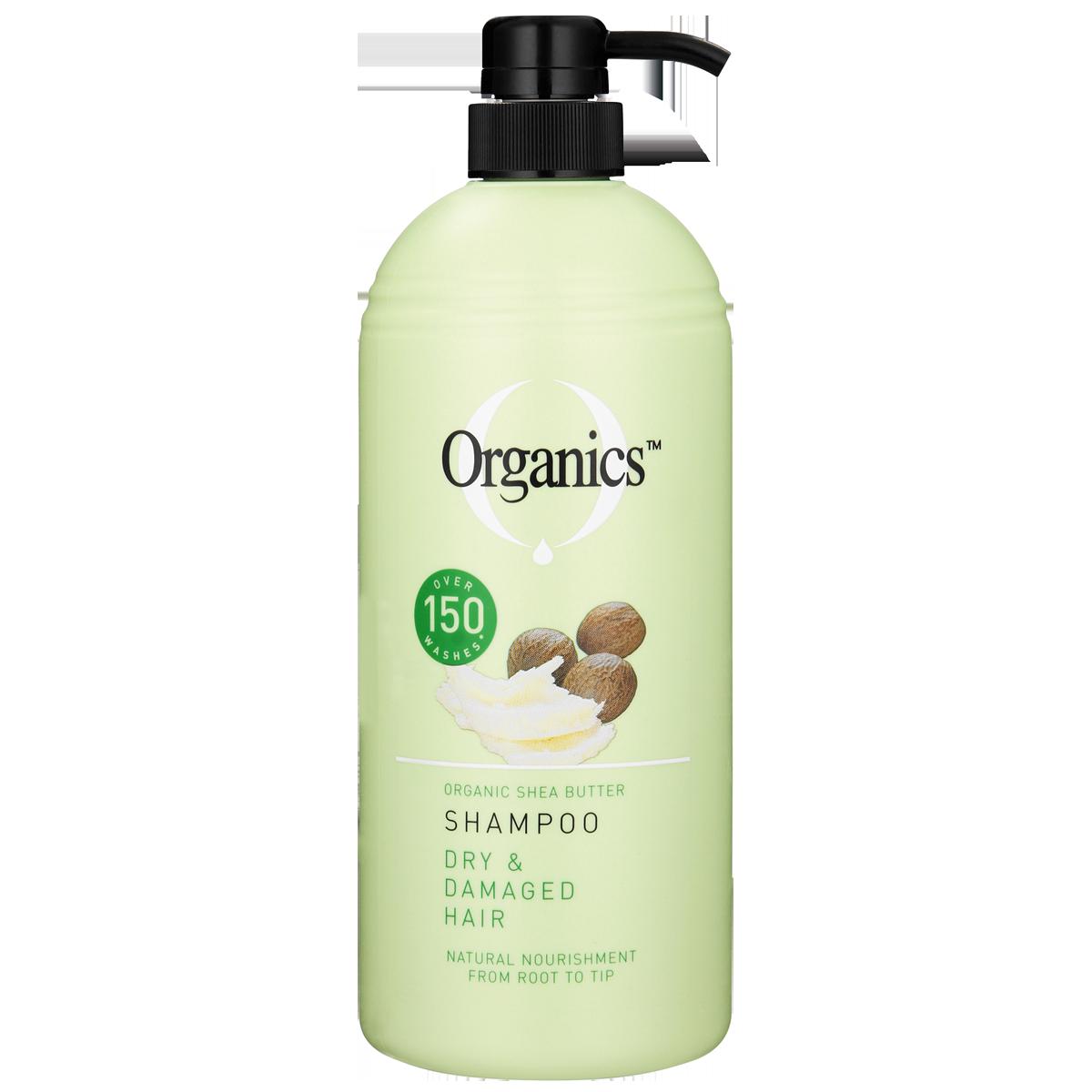 ORGANICS SHAMPOO DAMAGED 1L