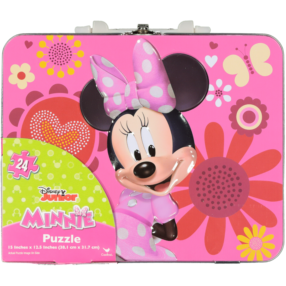 MINNIE MOUSE PUZZLE IN LUNCH TIN