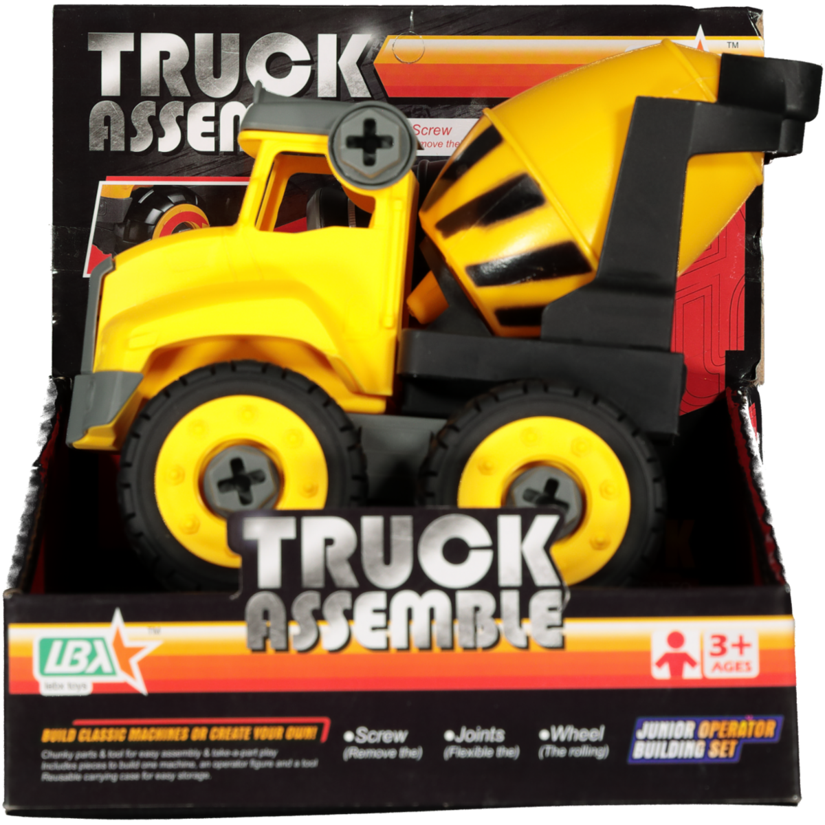 TRUCK ASSEMBLE 18CM ASSORTED