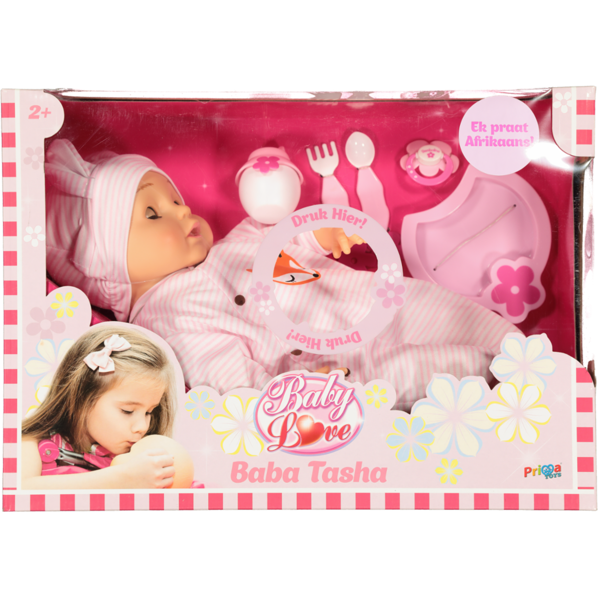 BABY LOVE: BABY TASHA DOLL